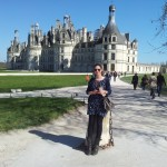 In front of Chambord
