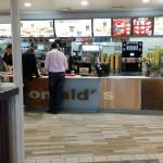 Sunday morning McDonald's breakfast on the drive back to Munich