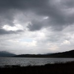 Cloudy and depressing Batak Lake