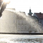 Main Fountain on the Square in Budweis