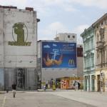 Ostrava - part of the main square