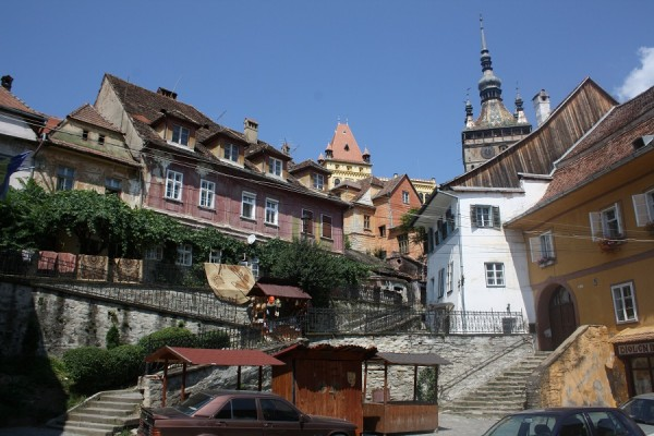 Sighisoara - the view of Citadel
