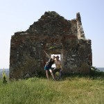 The very, very top of Rupea castle.