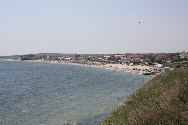 Vama Veche - view from the bedroom window.