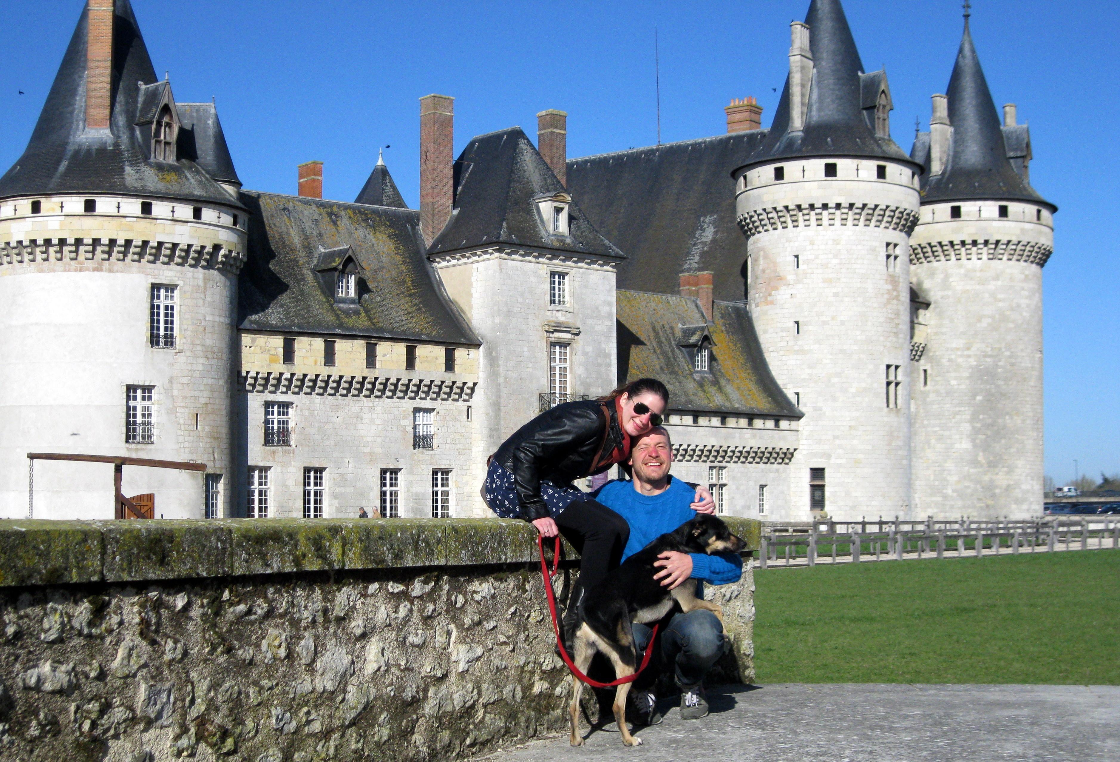 Sully Sur Loire Foot Château in Sully-sur-loire
