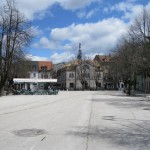 Main square in Cetinje