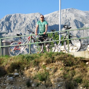 Biking in Baška Voda