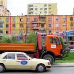 Colourful Buildings in Tirana
