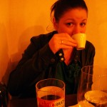 Iva Drinking Her Expresso