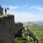 Iva Inside the Acrocorinth