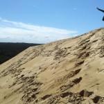 Iva on the dune