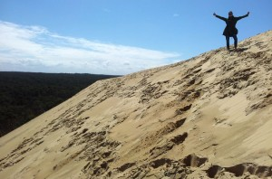 Iva on the dune