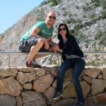 Jay and Iva at Sveti Rok