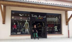 Little Marcel, a very strange concept for a shop