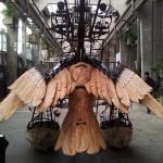 A Mechanical Heron