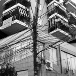 One Lamppost / One Million Cables