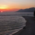 Sunset at Baška Voda