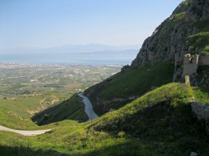The View From the Acrocorinth